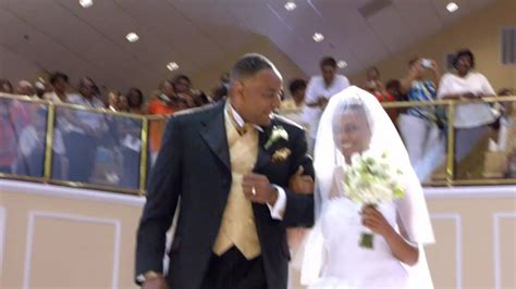 pastor mike freeman house wedding highlight 1 brittney kevin borders youtube
