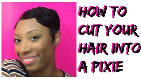 how to cut own pixie how to cut your own hair into a pixie cut or short cut