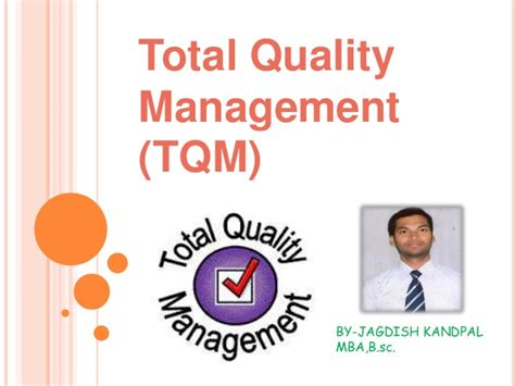 Mba Total Quality Management by Tqm
