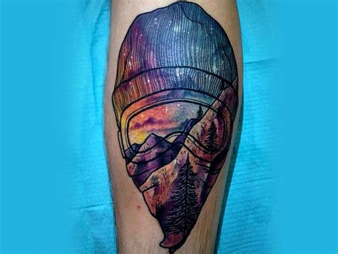 32 strange stunning and sh t snowboarding tattoos