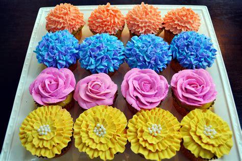 Flower Cupcakes Recipe ? Dishmaps
