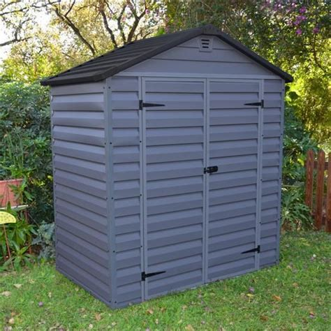 Plastic Garden Sheds Billyoh Skylight 6 And 4 Fronted Apex Plastic Garden