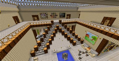 Stairway Storage epic staircase design minecraft project