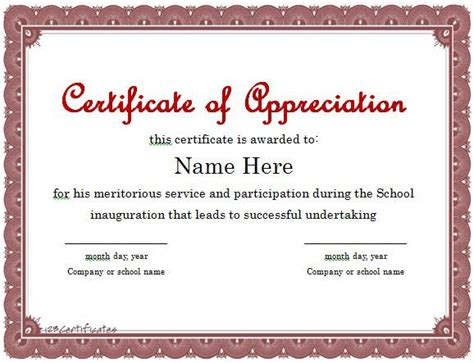 sample certificate of appearance template best of certificate of