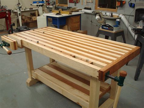 woodwork bench plans woodworking bench by dock16 lumberjocks com