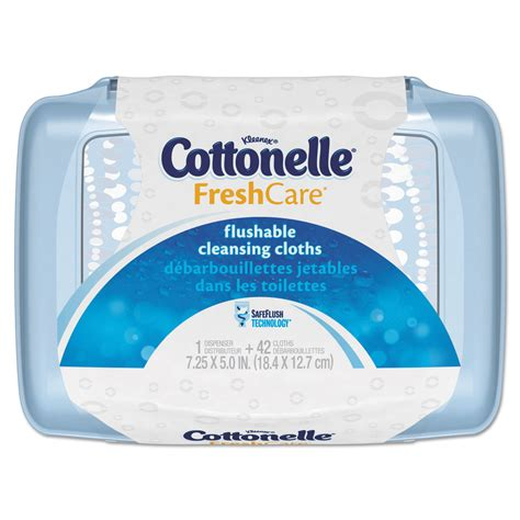 Fresh Care fresh care flushable cleansing cloths by cottonelle