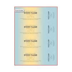 free template for event tickets the best event ticket template sources