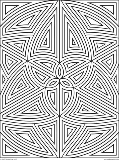 design for adults coloring pages geometric designs coloring pages design