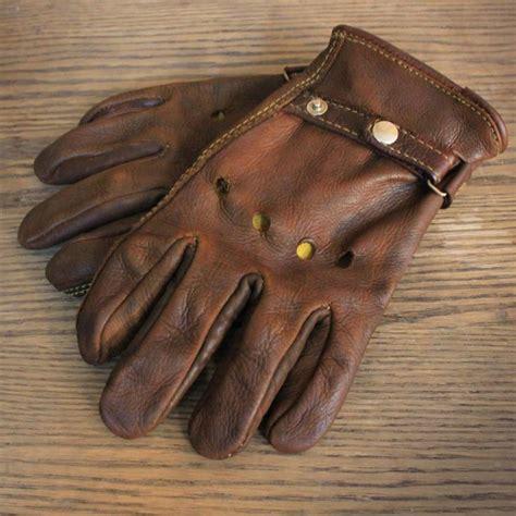 Handmade Leather Gloves - moto gloves custom leather gloves starting at 45