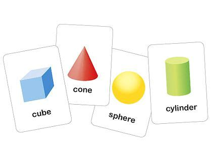 geometric shapes flash cards pictures to pin on pinterest 3 dimensional printable shapes flash cards free printables