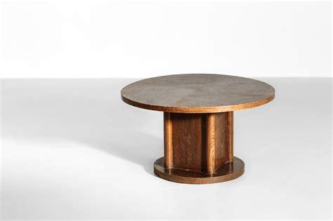 modernist coffee table in oak 1940s danke galerie