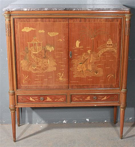 Best Inlaid Walnut Chinoiserie Bar Liquor Tv Cabinet For Liquor Cabinets For Sale