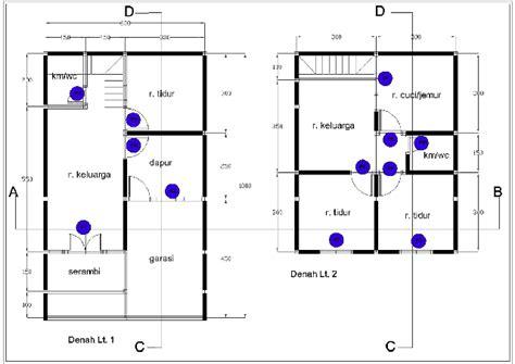 desain renovasi rumah sederhana kpr btn type 21 60 posisi tengah desainrumahsederhana