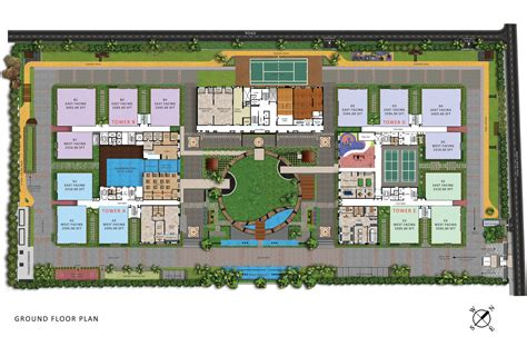 Ultra Modern Home Plans my home abhra luxury 3 bhk 4 bhk apartments in