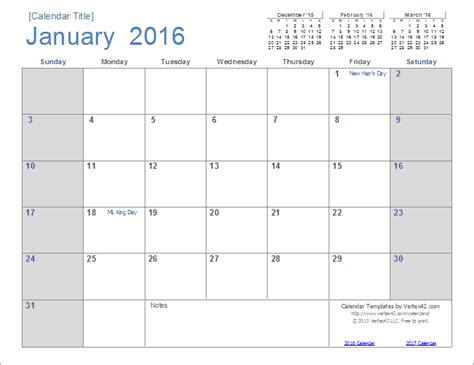 Calendar Templates 2016 2016 Calendar Templates And Images