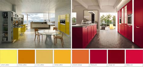 yellow and red kitchens red and yellow spices to add color in your kitchen