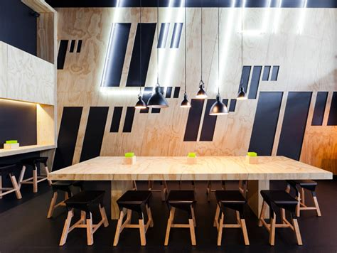 Zwei Interiors by 11 Inch Pizzeria By Zwei Interiors And Architecture