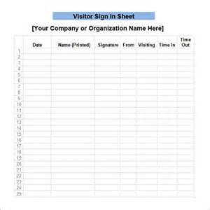 free printable sign templates sign in sheet template 21 free documents in