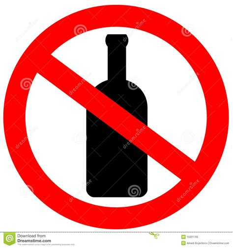 cartoon no alcohol no alcohol sign stock photography cartoondealer com