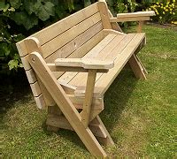 bench folds into picnic table folding bench to picnic table instructions page 1