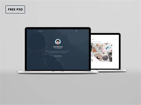 design mockup mac 16 laptop mockups psd download design trends