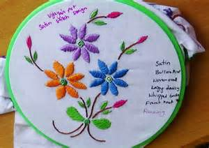 Handmade Embroidery Designs - embroidery designs 115 satin stitch design
