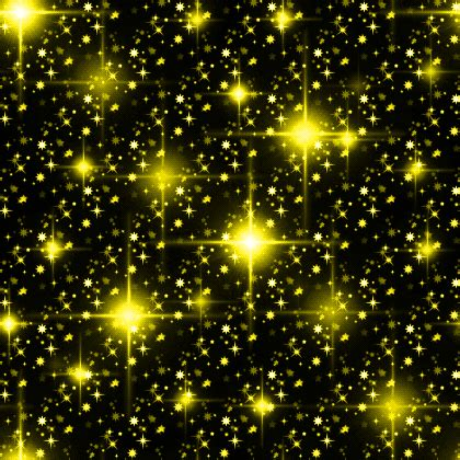 yellow starry night glitter background seamless background