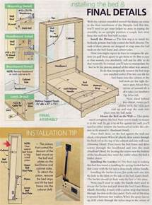Free Murphy Bed Plans Hardware 25 Best Ideas About Murphy Bed Plans On Diy