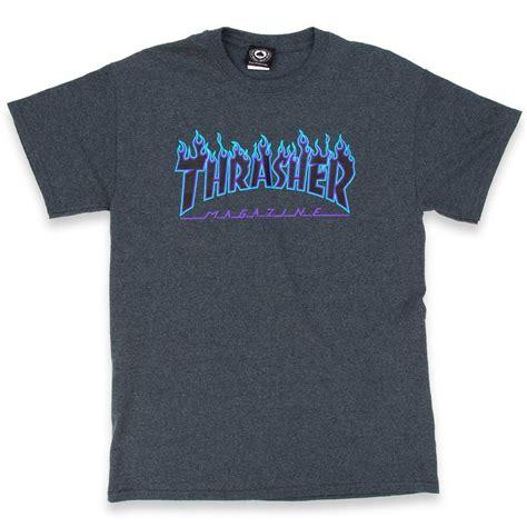 Trasher Logo Tees 1 thrasher logo t shirt