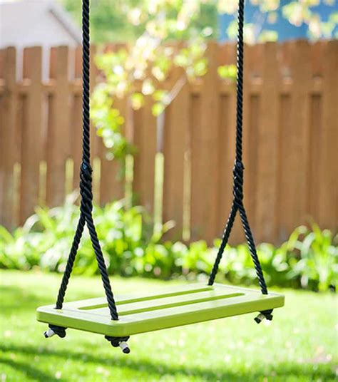 make a tree swing make your own playground in your home with indoor swing