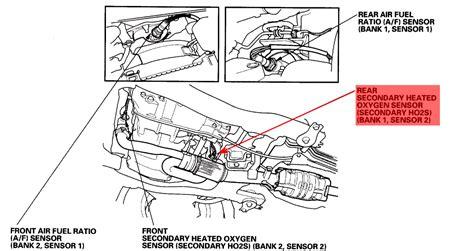 2005 honda accord oxygen sensor location honda pilot o2 sensor diagram honda get free image about