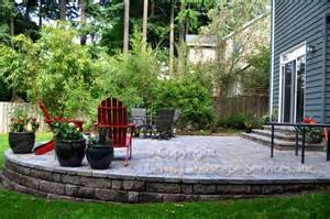 Red Wall Living Room Ideas Fraser Patio Project Traditional Patio Portland By Lewis Landscape Services Inc