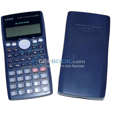Casio Original Casio Scientific Calculator Fx 100ms Original Cbpbook