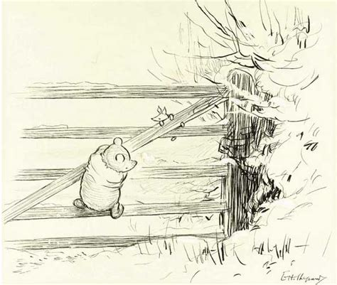 E H Shepard Sketches by Downthetubes Sotheby S To Auction E H Shepard S