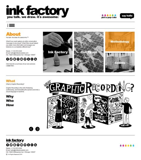 wordpress site layout customizer custom wordpress website design ink factory studio dstripe