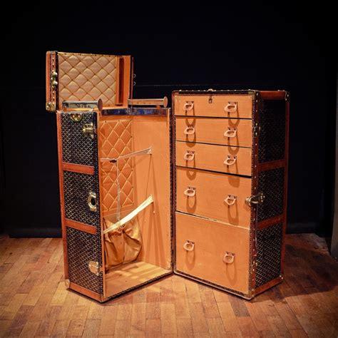 Wardrobe Trunks by A Goyard Wardrobe Trunk The Eaton Collection