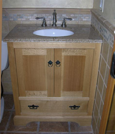 oak cabinets bathroom rift oak bath cabinets