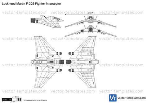 Templates Modern Airplanes Lockheed Lockheed Martin F 302 Fighter Interceptor Adobe Sts Templates