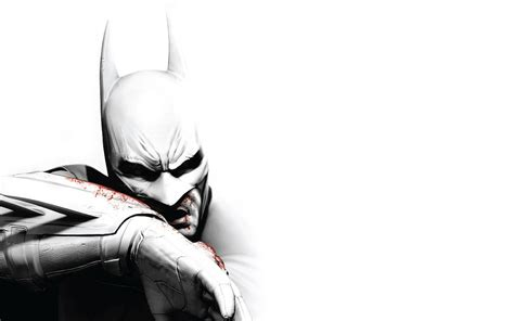 batman wallpaper white batman arkham city wallpaper