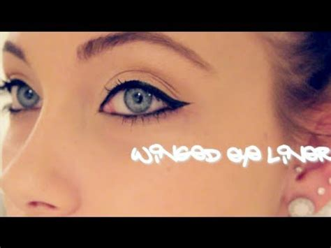 perfect winged eyeliner tutorial youtube perfect winged eyeliner tutorial youtube