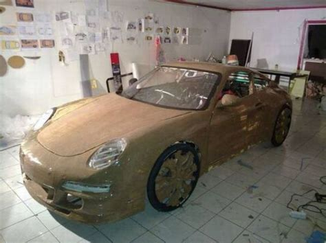 porsche bicycle car the greatest diy project ever making porsche out of a
