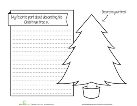 christmas writing activities for 2nd grade write about education