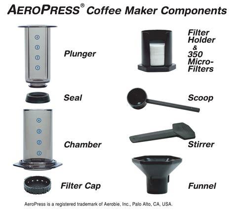 Coffee Tea Maker Aerobie Aeropress Coffee Maker With Totebag aerobie aeropress coffee maker with baristakit stainless steel filter