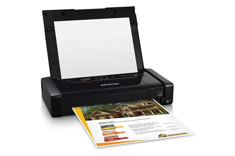 Printer Epson Workforce Wf 100 epson workforce wf 100 mobile printer inkjet printers for work epson us
