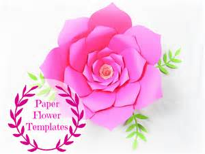 Paper Flower Template by Diy Wedding Paper Flowers Flower Templates Svg Cut Files