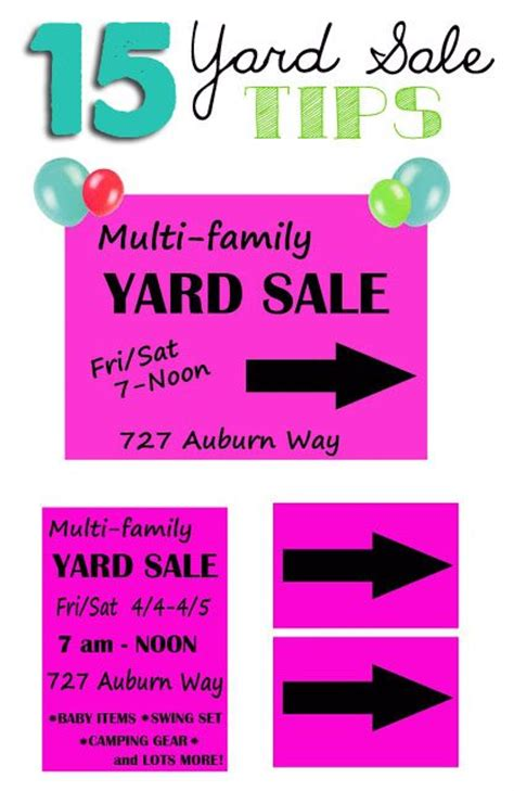 Best Garage Sale Ads by Top 15 Yard Sale Advertising Tips All Things Thrifty