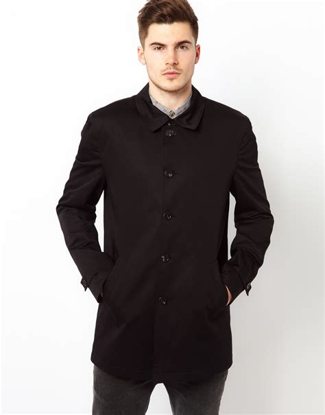 Island Trenchcoat by River Island Trench Coat In Black For Lyst