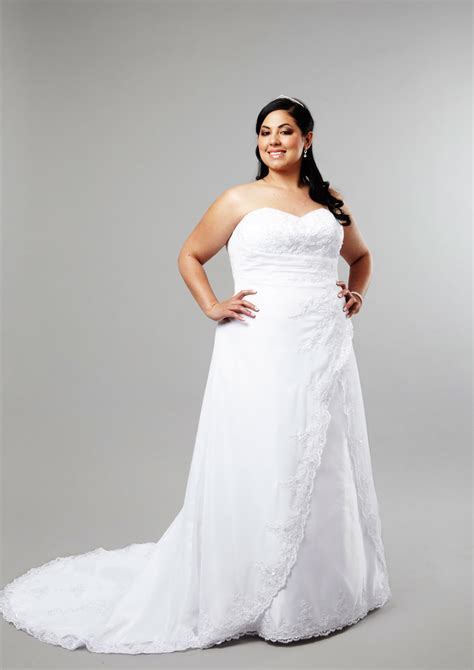 best wedding dress designers for plus size brides