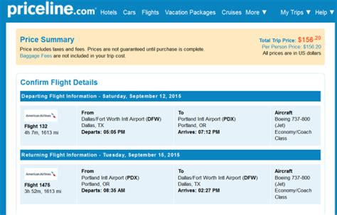 The Flight Deal   American ? $156: Dallas ? Portland