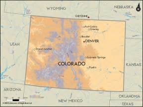 road map of colorado and colorado road maps
